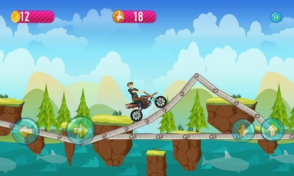 Ben Jungle Bike Race apk screenshot