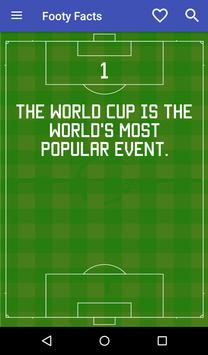 Football Facts poster