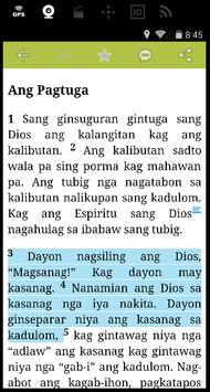 Bible in Hiligaynon apk screenshot