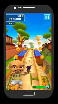 Subway Upin Runner Ipin poster