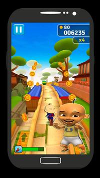 Subway Upin Runner Ipin screenshot 1