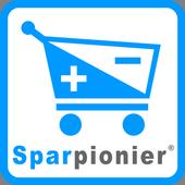 SPARPIONIER: Weniger zahlen im Supermarkt icon