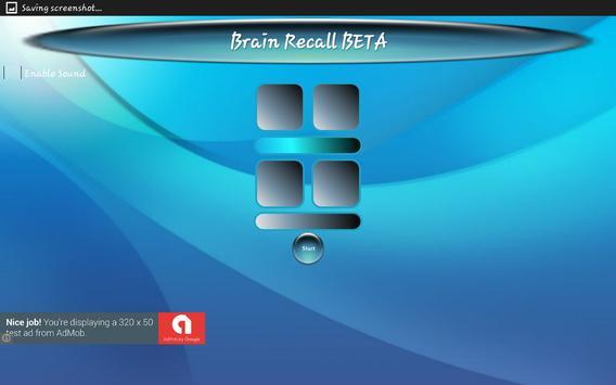 Brain Recall BETA apk screenshot