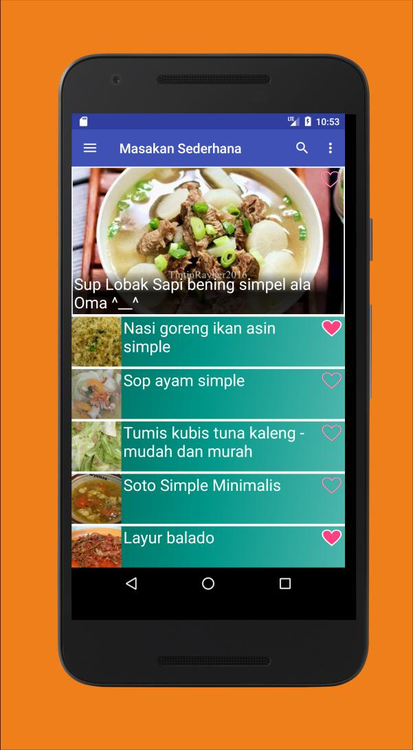 1001 Resep Masakan Sederhana For Android Apk Download