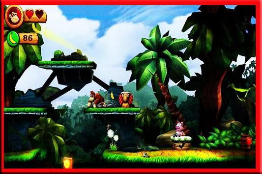 New Donkey Kong Country Retruns Trick poster