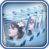 Glass And Bottle Photo Frames icon