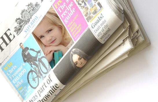 Newspaper Photo Frames screenshot 1