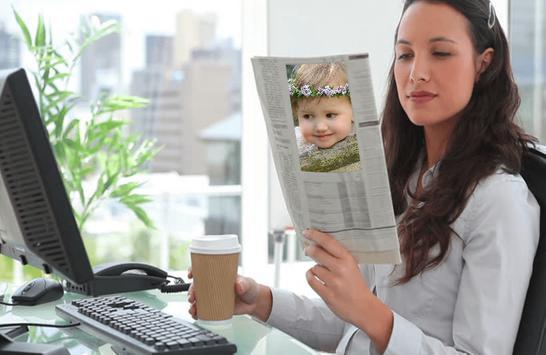 Newspaper Photo Frames screenshot 2