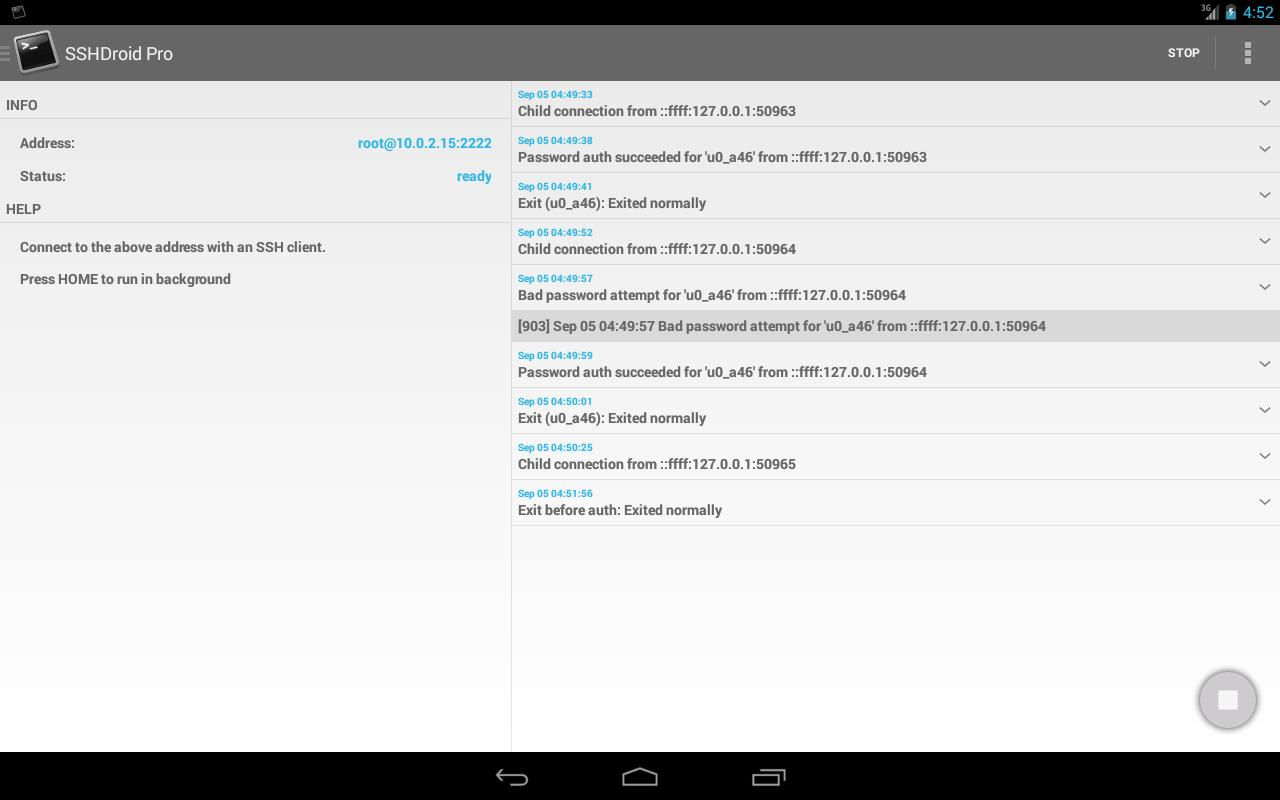 SSHDroid for Android - APK Download