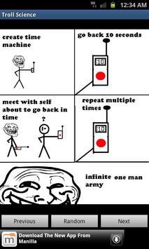 Troll Science (Meme Viewer) poster