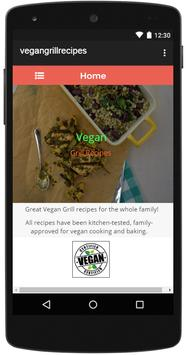 Vegan Grill Recipes screenshot 5