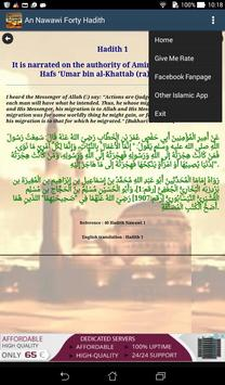 An Nawawi Forty Hadith apk screenshot