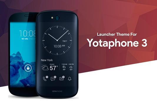 Theme for Yota Phone 3 poster