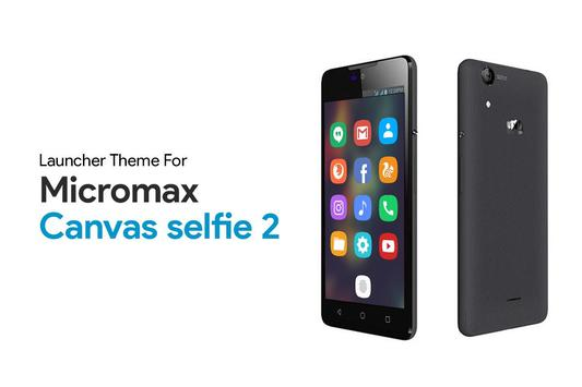 Theme for Micromax Canvas Selfie 2 poster