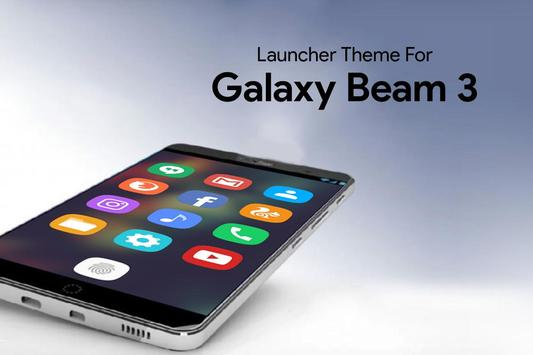 Theme for Galaxy beam 3 poster