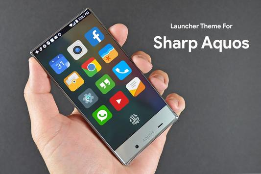 Theme for Sharp Aquos poster