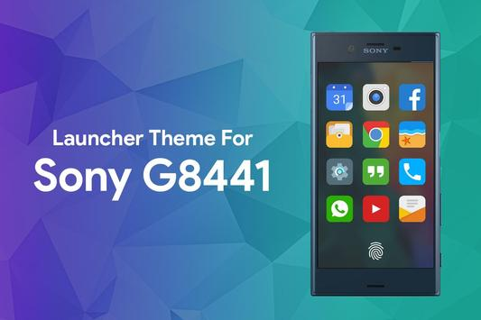 Theme for Sony G8441 poster