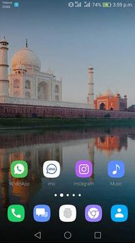 Taj Mahal Theme screenshot 3