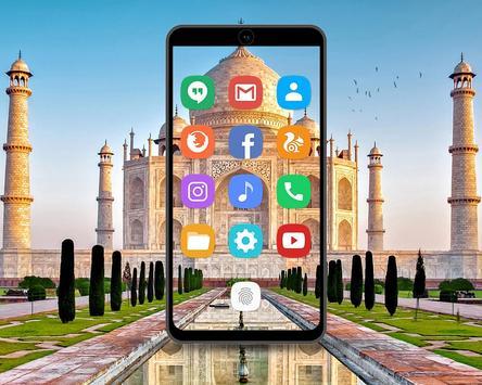 Taj Mahal Theme screenshot 1