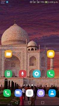 Taj Mahal Theme screenshot 2