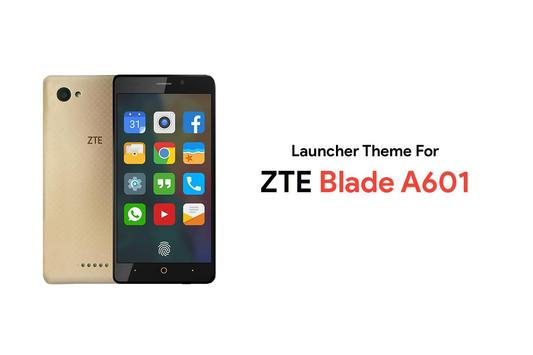 Theme for ZTE Blade A601 poster