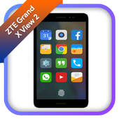 Theme for ZTE Grand X view 2 icon