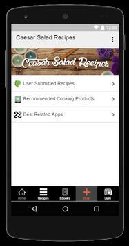 Caesar Salad Recipes apk screenshot