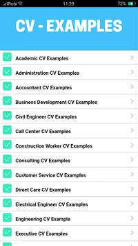 cv examples for android apk download