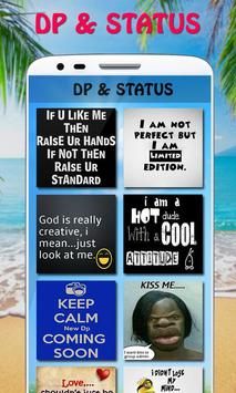 Best Dp and Status in English poster