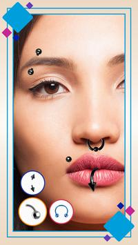 Piercing Photo poster