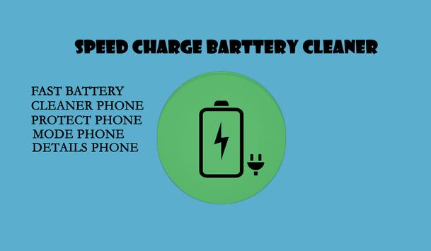Speed Charge Battery Cleaner poster