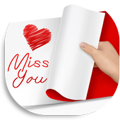 Miss You Greeting Cards&Notes icon