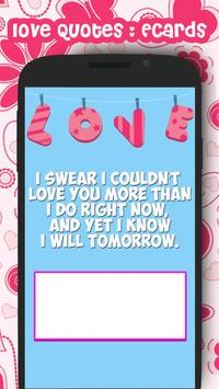 Love Quotes eCards screenshot 5