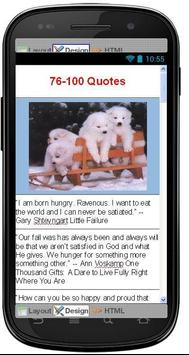 Best Hunger Quotes apk screenshot