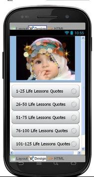 Best Life Lessons Quotes poster
