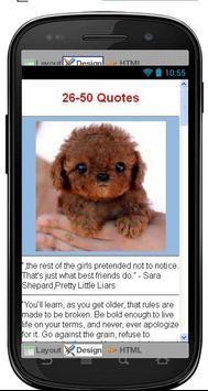 Best Life Lessons Quotes apk screenshot