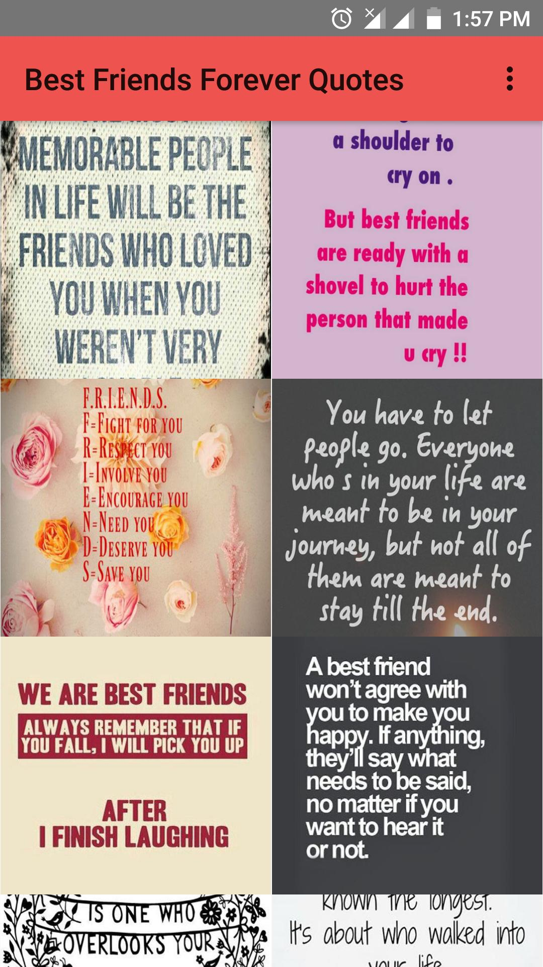 Best Friends Forever Quotes For Android Apk Download