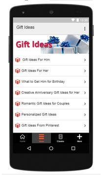 Gift Ideas screenshot 1
