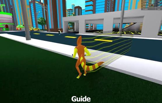 Guide for BEN 10 & EVIL BEN 10 roblox capture d'écran 2