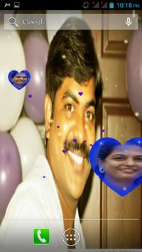 Heart Zoom Live Wallpaper screenshot 1
