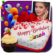 Happy Birthday Cake With Name Edit Software Online