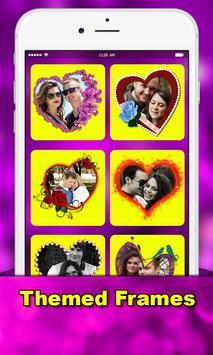 love photo greetings: love Romantic photo frames poster