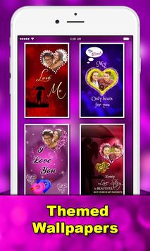 love photo greetings: love Romantic photo frames apk screenshot