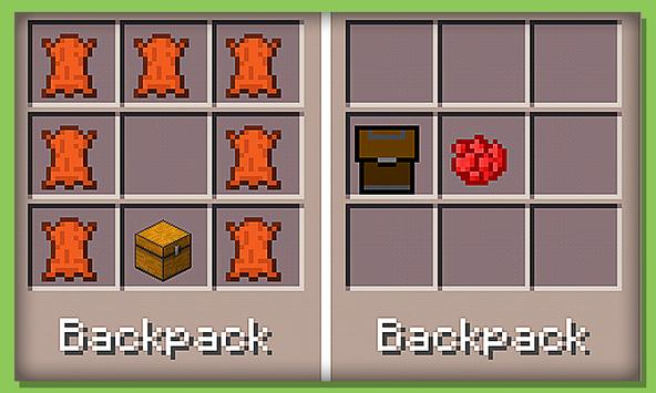 Backpack Mods for Minecraft PE スクリーンショット 2