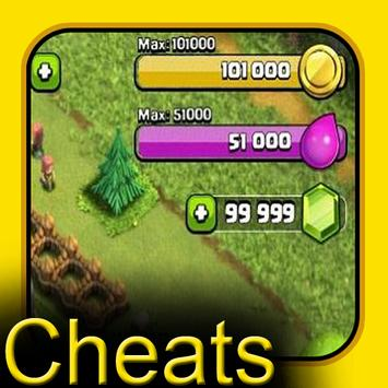 Best Cheats For Clash of Clans poster