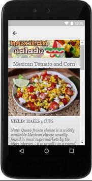 Best mexican salades recipes apk screenshot