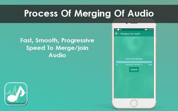 Multiple MP3 Audio Merger - Unlimited Audio Joiner screenshot 4