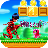 Miraculous Adventure Ladybug And Cat Noir Run icon