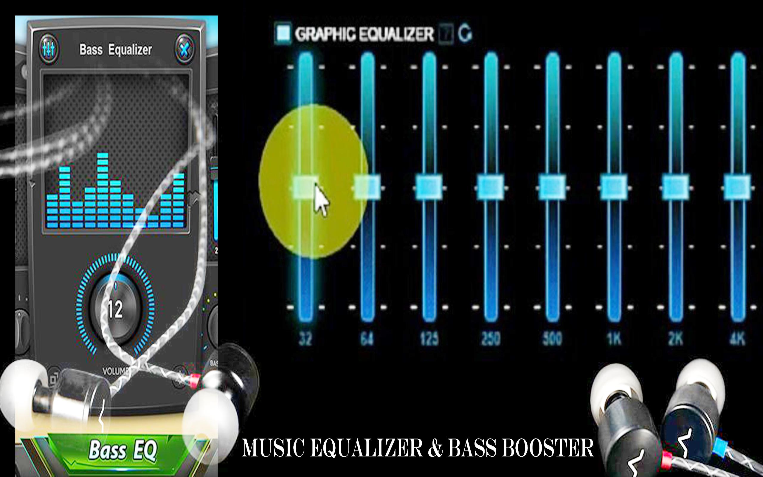 Equalizer, Bass Booster & Volume Booster - EQ for Android - APK Download