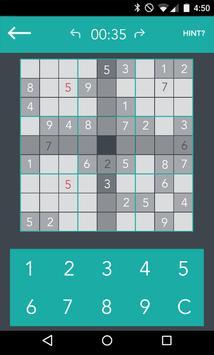 Touch Sudoku Free apk screenshot
